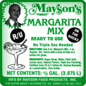 On the Rock Margarita Mix